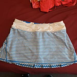 Lululemon workout skirt